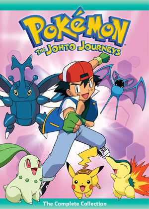 Johto Journeys Collection DVD Cover
