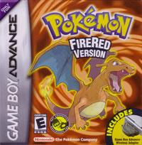 Pokemon FireRed Game Boy Advance