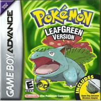 Pokemon LeafGreen Game Boy Advance