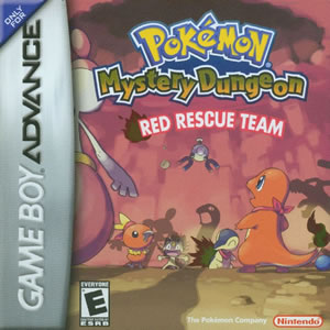 Pokemon Mystery Dungeon Red Rescue Team Box