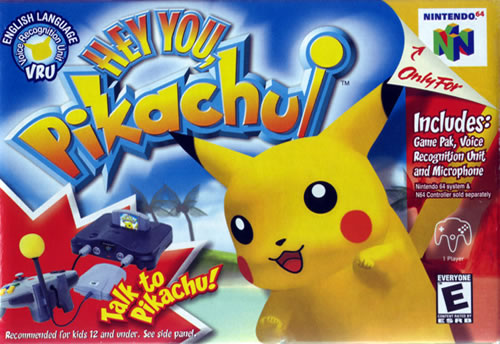 Hey You Pikachu Box