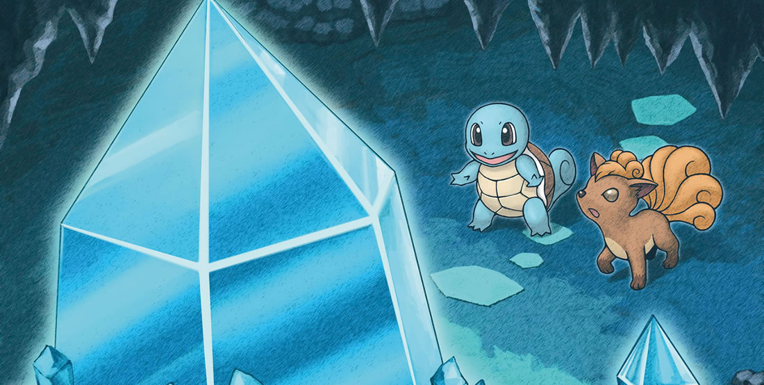 MD Sky Squirtle Vulpix