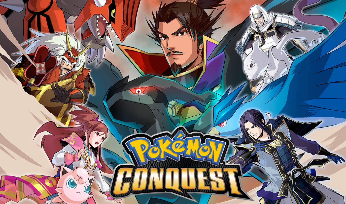 Pokemon Conquest Review header