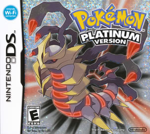 Pokemon Platinum Box Art