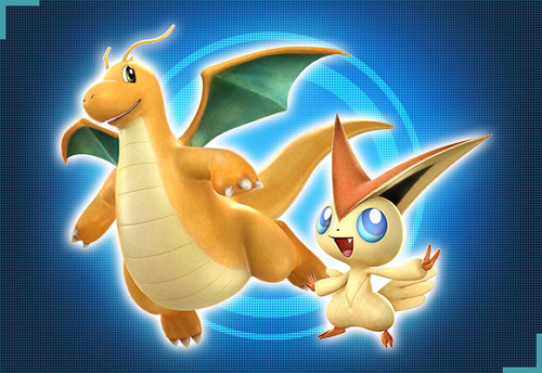 Victini Dragonite