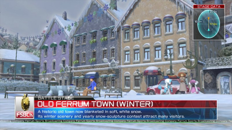 Old Ferrum Town Winter