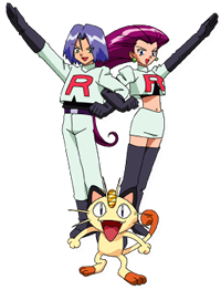 Team Rocket Anime Jessie James