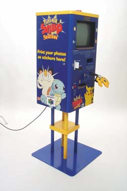 A Pokemon Snapstation that would've been in Blockbuster video in the 90s