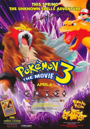 Pokemon the Movie 3: The Spell of the Unown