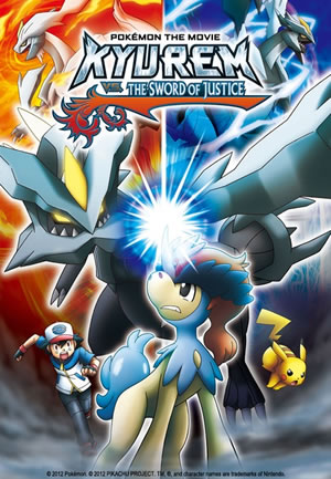 Pokemon the Movie 15 Kyurem vs the Sword of Justice