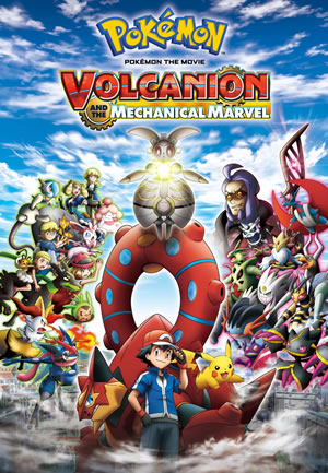 Pokemon the Movie 19 - Volcanion and the Mechanical Marvel Cover