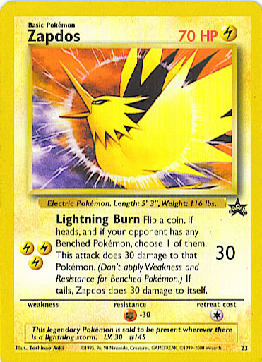 Zapdos Power of one Theatrical Promo BS23 Promo