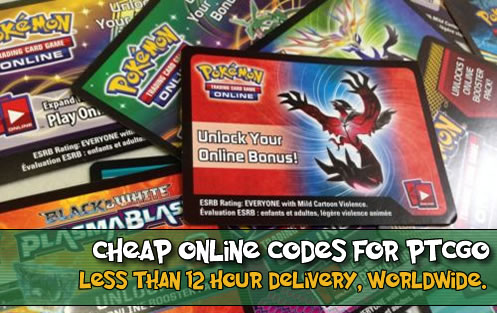 Cheap PTCGO Codes