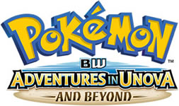 Pokemon Season 16 BW Adventures in Unova and Beyond Logo