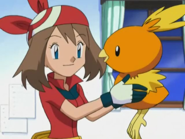 May Chooses Torchic