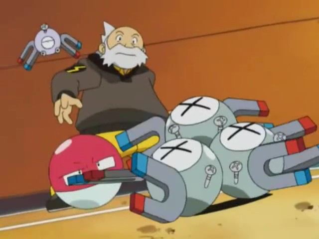 Pikachu Shuts Down Magneton and Electrode