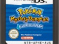 70536 pokemon mystery dungeon blue rescue team nintendo ds media