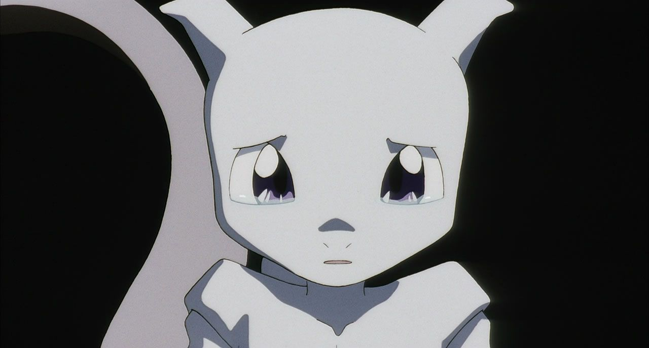 23 Young Mewtwo crying