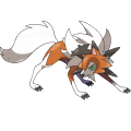 Lycanroc in its Dusk Form