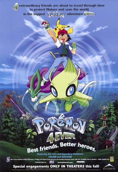 Pokemon4Ever Poster English