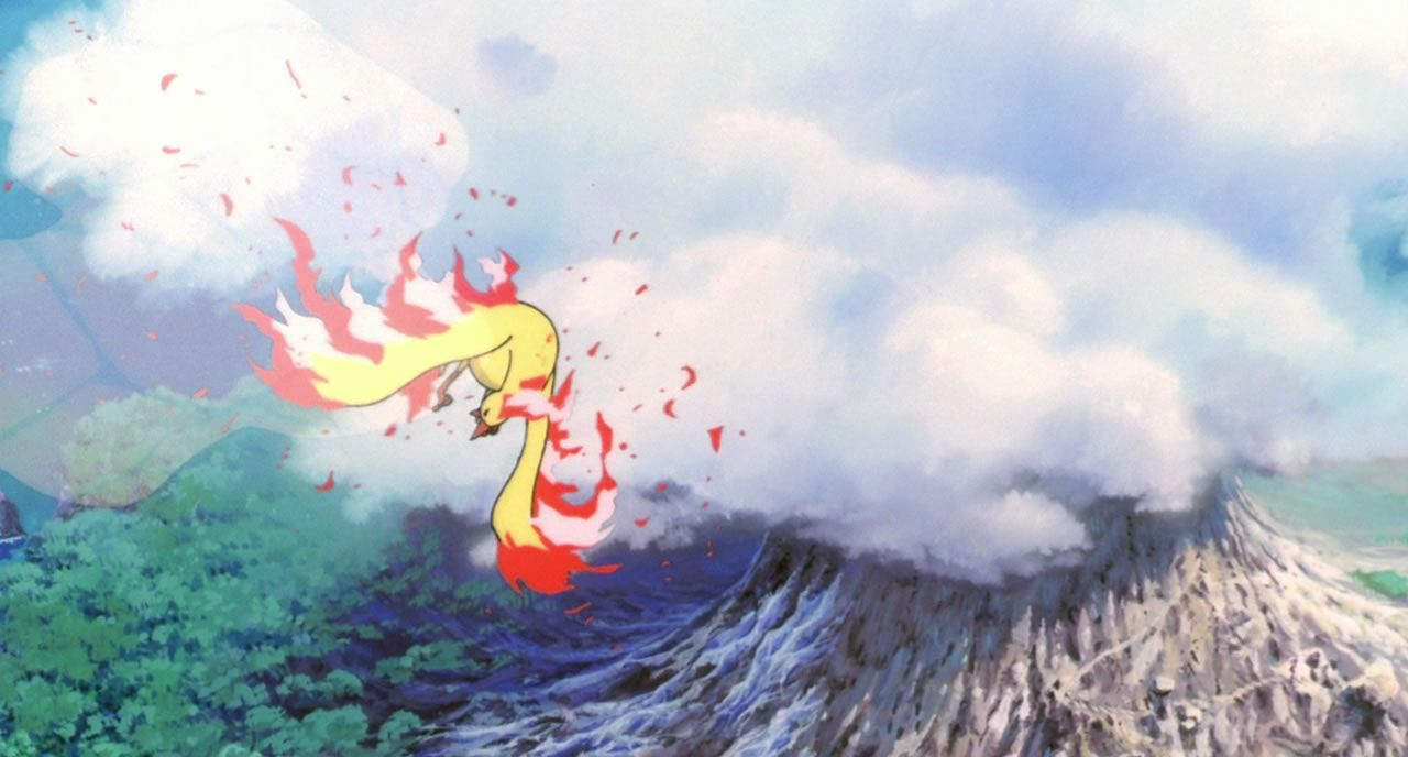 1 Moltres Under Attack