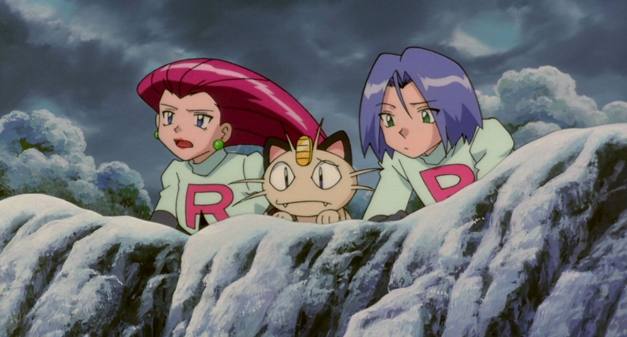 46 Team Rocket get jealous that Ash always gets the role of hero