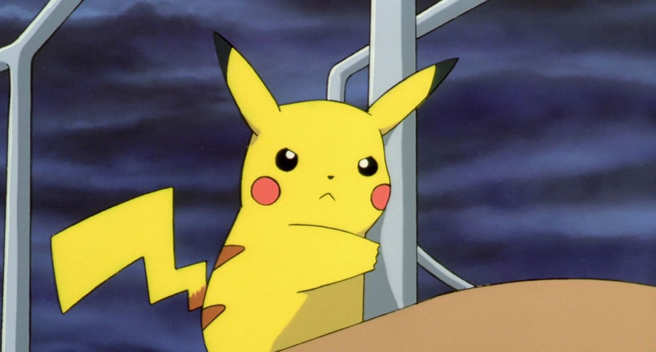 4 Pikachu senses that something is wrong with more than just the weather
