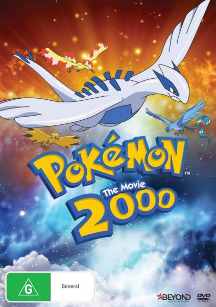 Australian Pokemon 2000 DVD Cover by Beyond
