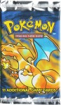 English Base Set Charizard pack
