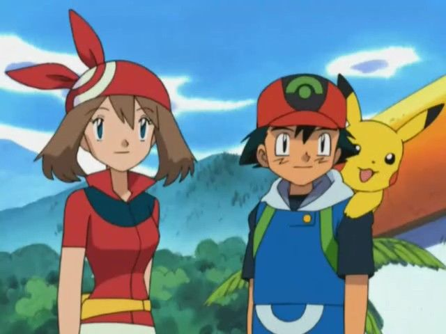 Ash and May Become Travelling Companions