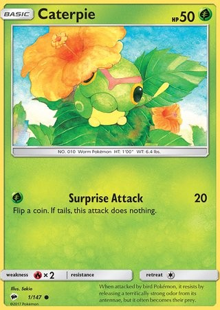 1 Caterpie