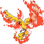 146Moltres Pokemon Ranger Guardian Signs