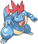 160Feraligatr Pokemon Ranger Guardian Signs