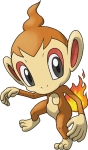390Chimchar Pokemon Ranger Shadows of Almia