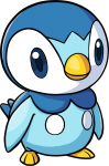 393Piplup Pokemon Ranger Guardian Signs