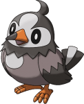 396Starly Pokemon Ranger Shadows of Almia