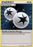 111 Double Colorless Energy