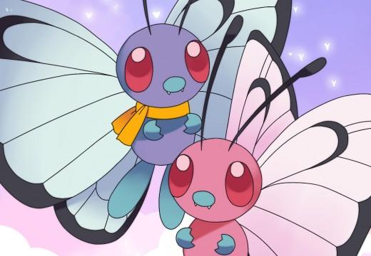 butterfree duo poster by destinal d8wncha