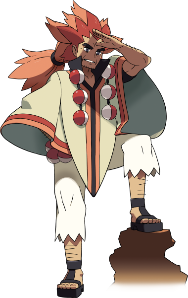 Alder, the Champion of Unova