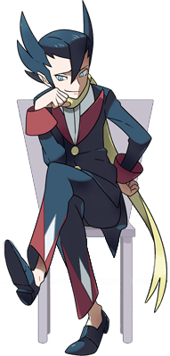Elite Four Grimsley: Master of Dark types