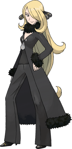 Cynthia, The Champion of Sinnoh