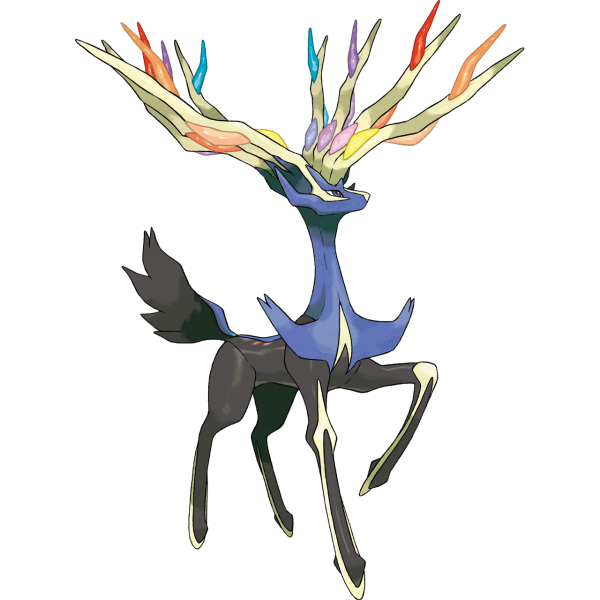Xerneas, the legendary mascot of Pokemon X