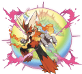 Blaziken Mega Evolution