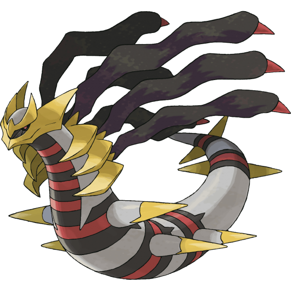 Giratina in it's origin forme