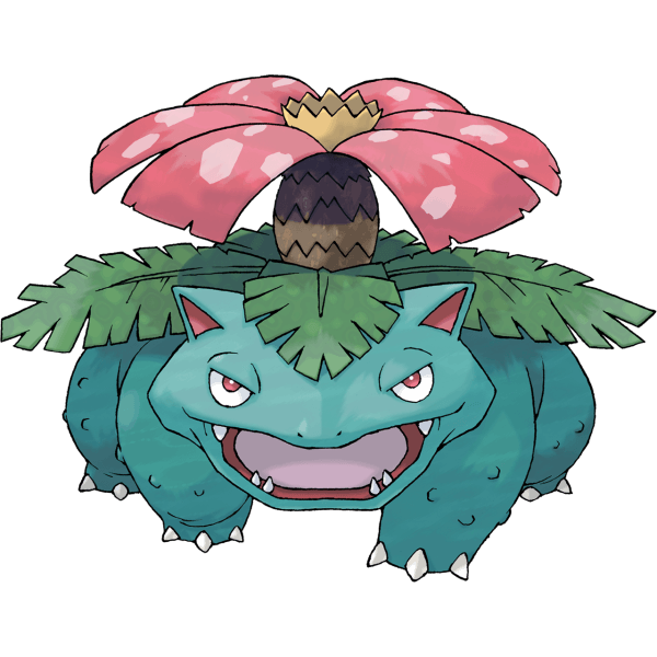 Venusaur, The Cover Mon of Pokémon LeafGreen