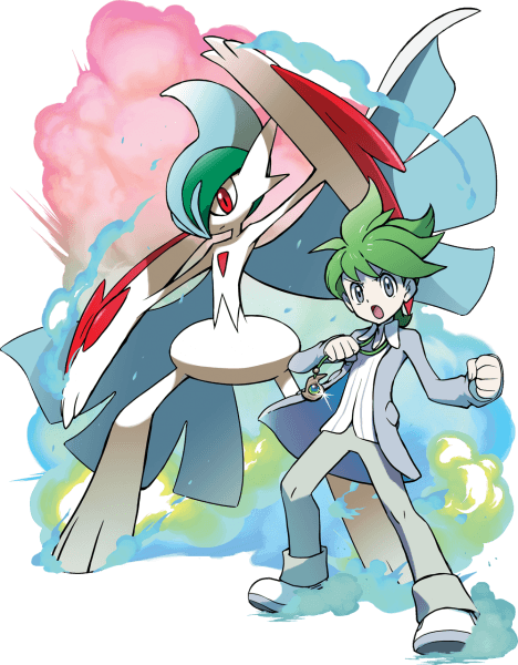Wally with Mega Gallade
