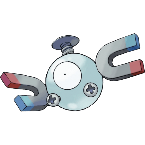 Magnemite is now a steel/electric type