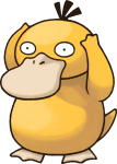 054Psyduck Pokemon Mystery Dungeon Red and Blue Rescue Teams