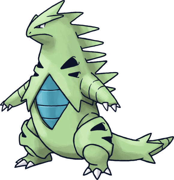 248Tyranitar Pokemon Mystery Dungeon Red and Blue Rescue Teams
