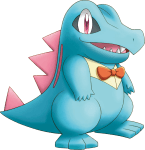 158Totodile Pokemon Mystery Dungeon Explorers of Sky
